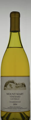 Mount Mary Chardonnay Ullage: mid shoulder