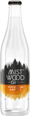 Mist Wood Gin With & Bitters 320mL