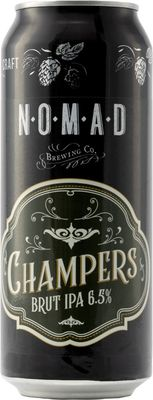 Nomad Champers Brut IPA Can