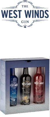 The West Winds Gin Gift Pack 3 x