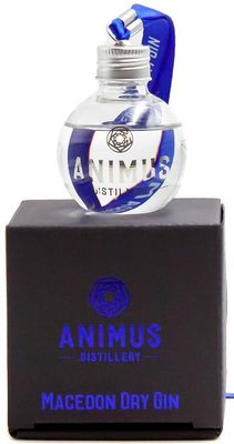 Animus Distillery Macedon Dry Gin Glass Bauble