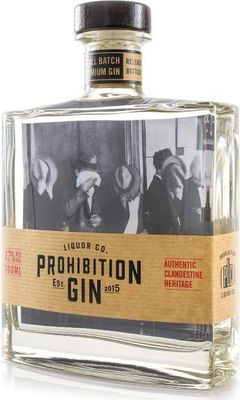 Prohibition Liquor Co Original Gin