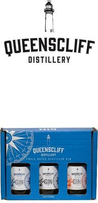Queenscliff Distillery Small Batched Distilled Gin Gift Pack 3mL