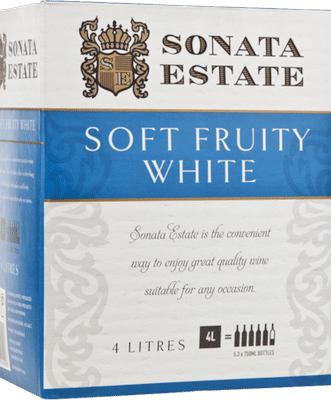 Sonata Estate Soft Fruity White Cask