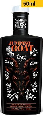 Jumping Goat Cold Brewed Coffee Infused Whisky Liqueur Piccolo
