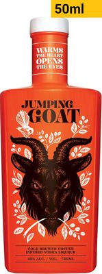 Jumping Goat Cold Brewed Coffee Infused Vodka Liqueur Piccolo