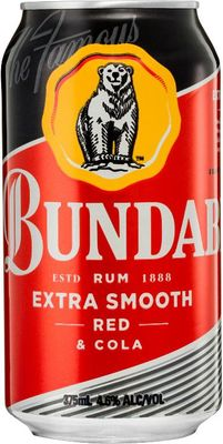 Bundaberg Rum Red And Cola