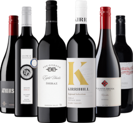 By Swift + Moore Smooth Shiraz Pack