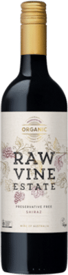 Raw Vine Estate Organic & Preservative Free Shiraz